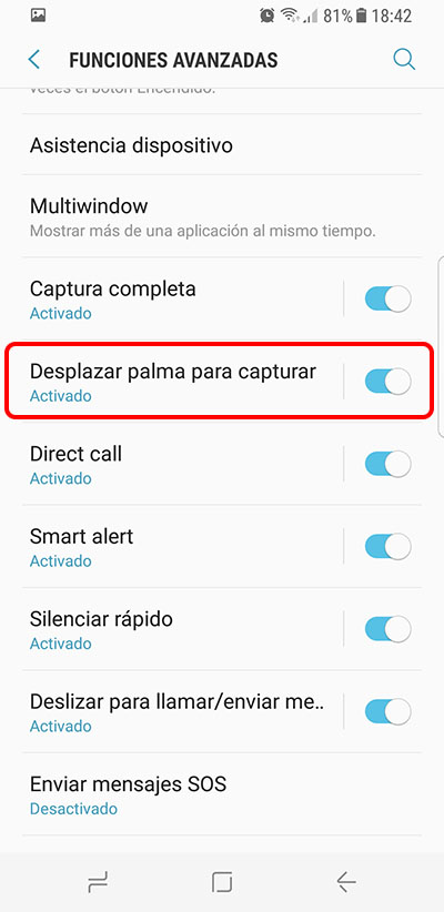 Come fare uno screenshot su Samsung Galaxy S8 e S8 + - Immagine 2 - Professor-falken.com