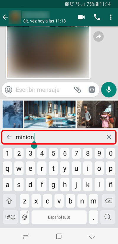 Come inviare gif animate su WhatsApp su Android - Immagine 4 - Professor-falken.com