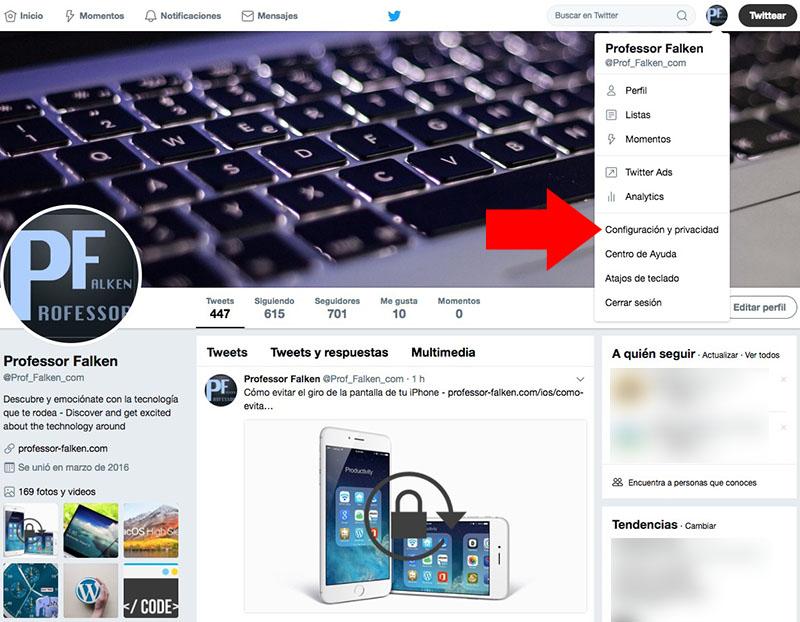 Como evitar essa jogada de vídeos Twitter automaticamente em seu PC ou Mac - Imagem 1 - Professor-falken.com