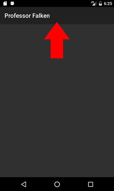 Cómo ocultar la ActionBar de una Activity en Xamarin Android - Image 1 - professor-falken.com