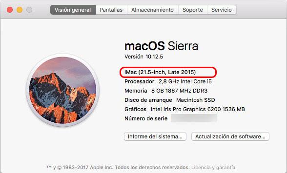 Cómo saber cuál es el modelo y año de tu Mac - Image 2 - professor-falken.com