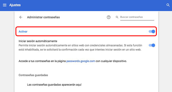 Comment faire de votre navigateur pour arrêter de vous poser si vous souhaitez enregistrer les mots de passe - Image 4 - Professor-falken.com