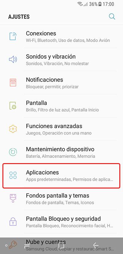 Cómo hacer que las aplicaciones se muestren a pantalla completa en tu Samsung Galaxy S8 - Image 1 - professor-falken.com