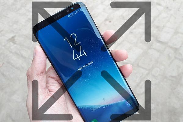 Πώς να κάνει τις εφαρμογές να εμφανίζονται για να εμφανίσετε πλήρη σχετικά με το Samsung Galaxy S8 - Professor-falken.com