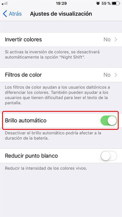 如何在您的 iPhone 上禁用自动亮度功能 - 图像 4 - 教授-falken.com