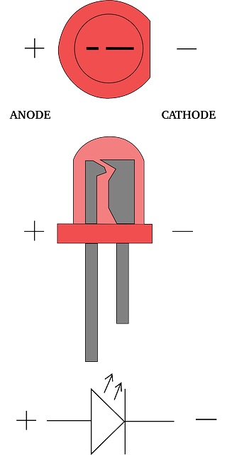 Cómo montar un circuito con un LED - Image 5 - professor-falken.com