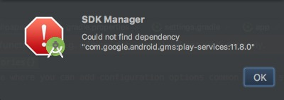 "Cómo solucionar el error ""Failed to resolve: com.Google.Android.GMS: ... "" με το Android Studio - Εικόνα 2 - Professor-falken.com"